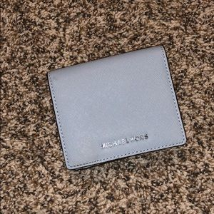 Blue NWOT Michael Kors Wallet